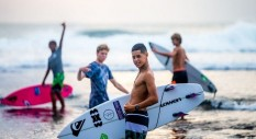 Ultimo round del Quiksilver Young Guns Surf Contest
