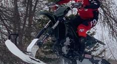 Alvaro Dal Farra a Cortina sul set degli  INTERNATIONAL MOTOR DAYS 2022
