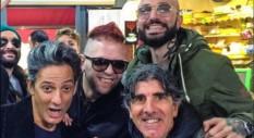 Boomdabash oggi da Edicola Fiore – stasera da Roma inizia il tour con Alborosie e Gentlemen!