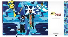 DC Snowboarding x Adventure Time