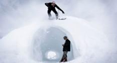 Spagna vs. Francia: le foto dello Spanish Team DC Snowboard in trasferta a Méribel