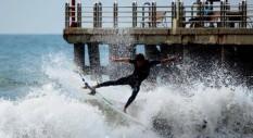 Surf a Forte dei Marmi: le foto di Filippo Eschiti