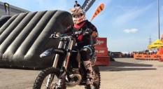 Ivan Zucconi ai Moto Days di Roma