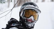 Khai Krepela danza con gli sci