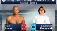 Leo Fioravanti batte Kelly Slater ma non basta