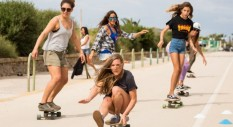 Report 1° Roxy Girl's Only Longboard Camp