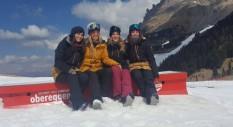 In Val di Fiemme lo shooting del Team Roxy Italy