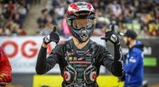 Pellegrini sul podio a Barcellona