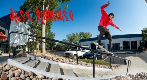 Alexis Ramirez e lo skateboard a occhi chiusi