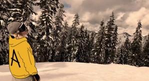 Austin Vizz: la neve come un parco giochi
