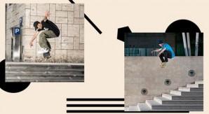 Nico Giordano e Luca Gozzo: lo skate abbatte le distanze