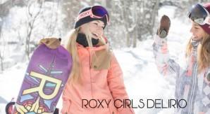 Roxy Girls Delirio con test Capita, Union, DC