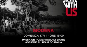 DC Skate with Us fa tappa a Modena