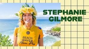 La nuova stagione del surf con la regina dell'oceano  Stephanie Gilmore
