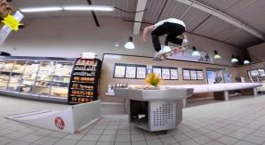 Supermarket Fantasy: gli skater DC tra gli scaffali di un supermercato
