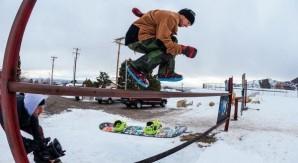 Sul Monte Hood con i migliori snowboarder CAPiTA