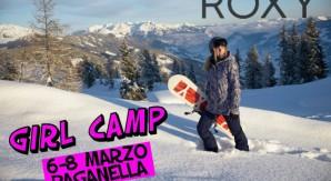 Snowboard Girl Camp con Roxy, Slope design e ASD YouSnow