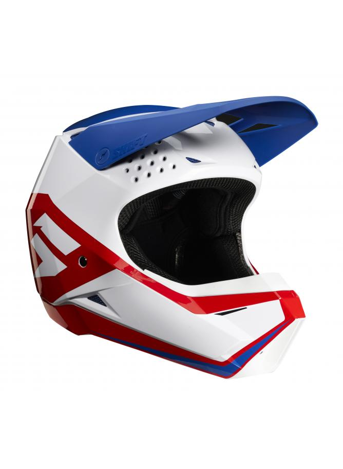 WHIT3 Label Youth Helmet Race Graphic