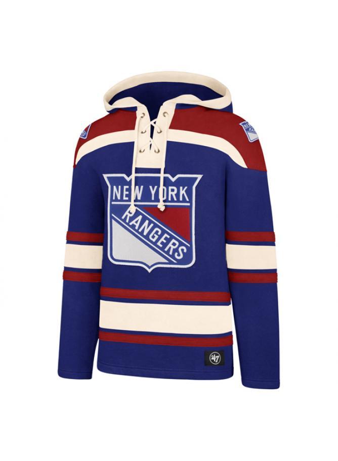 47 Felpa Lacer Hood New York Rangers