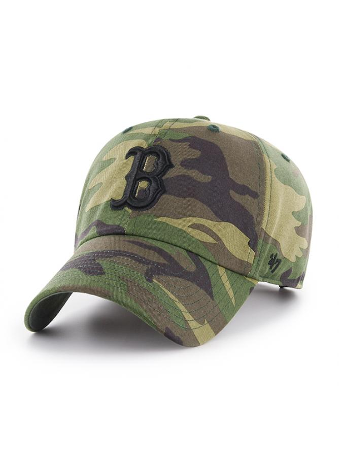 47 Cappellino Clean Up Camo Unwashed Boston Red Sox