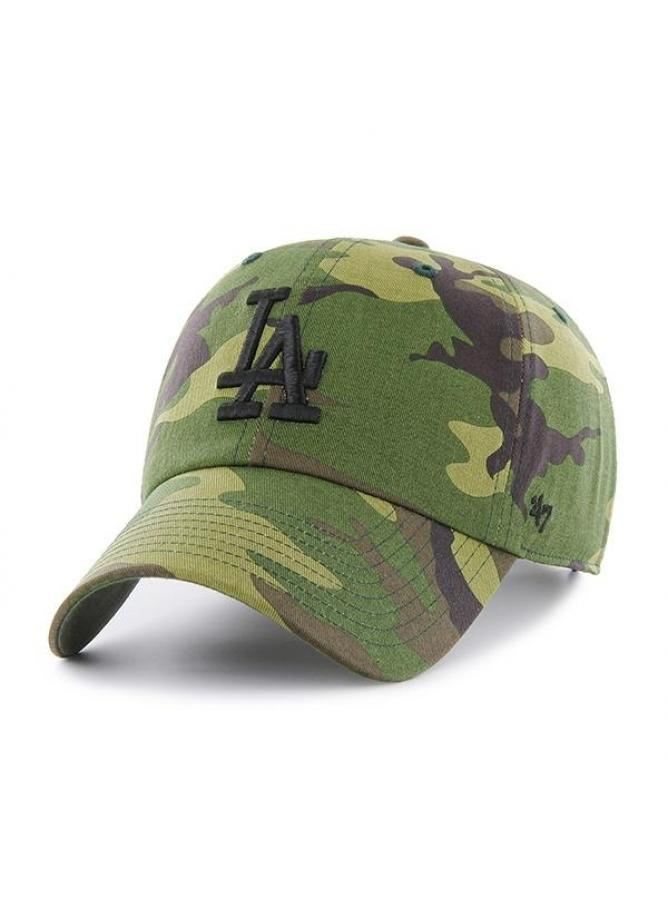 47 Cappellino Clean Up Camo Unwashed Los Angeles Dodgers