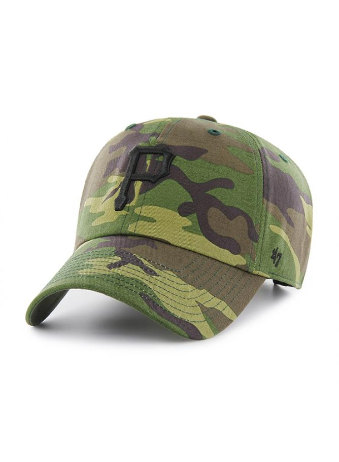 47 Cappellino Clean Up Camo Unwashed Pittsburgh Pirates