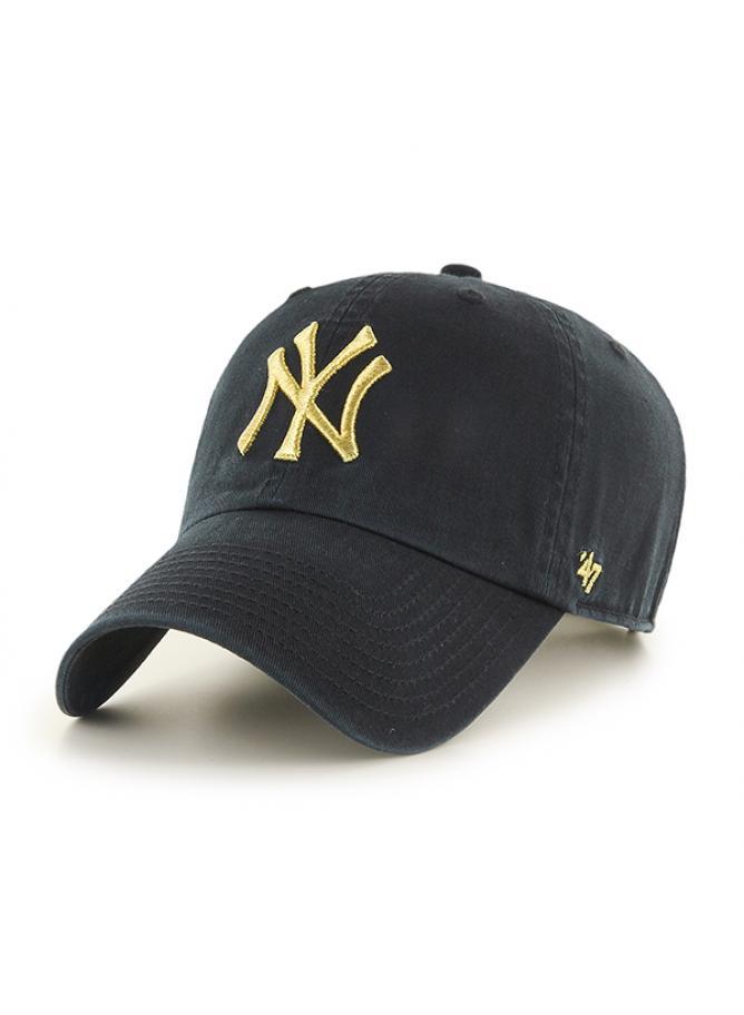 47 Cappellino Clean Up Metallic New York Yankees