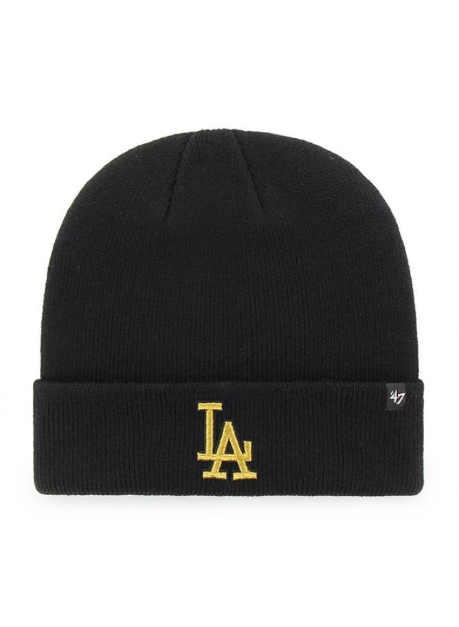 47 Berretto Cuff Knit Metallic Los Angeles Dodgers