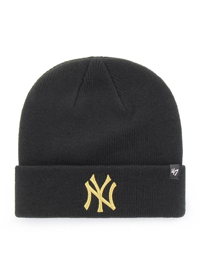 47 Berretto Cuff Knit Metallic New York Yankees