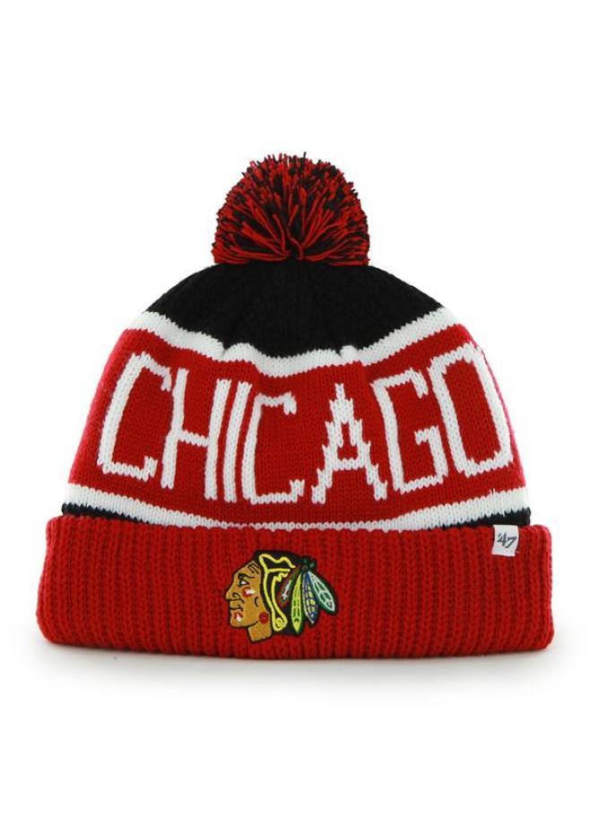 47 Berretto Calgary Chicago Blackhawks