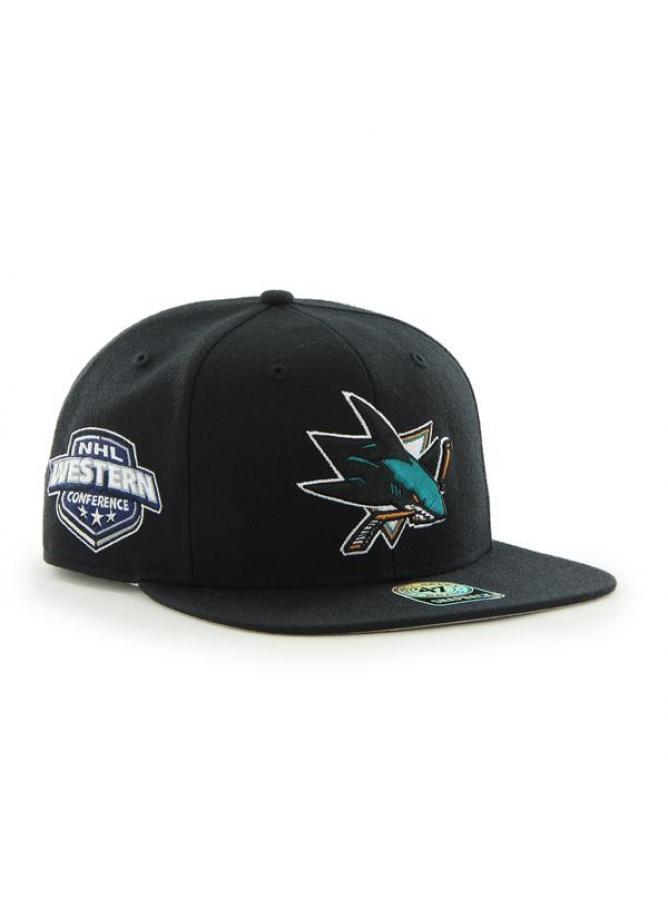 47 Cappellino Captain Sure Shot San Jose Sharks