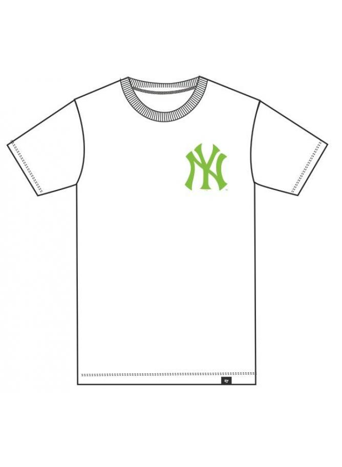 '47 m.c. Club White Neon New York Yankees