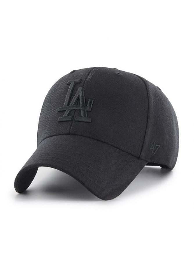 '47 MVP Snapback Black on Black Los Angeles Dodgers
