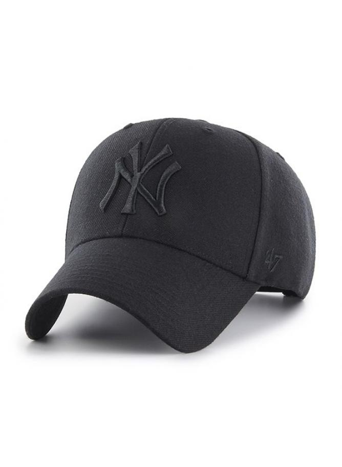 '47 MVP Snapback Black on Black New York Yankees