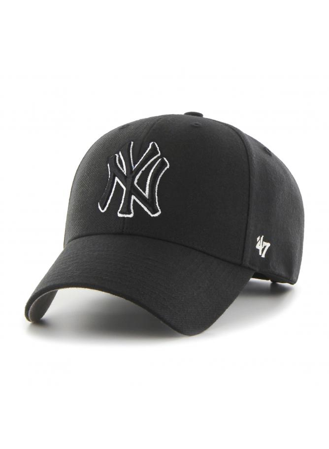 '47 MVP Snapback Black&White New York Yankees