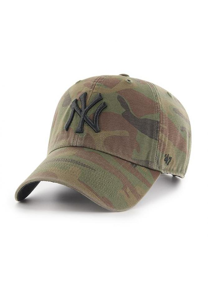 '47 Cappellino Clean Up Camo New York Yankees