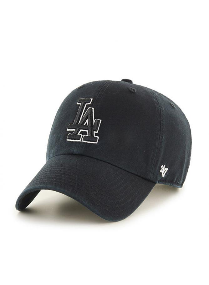 '47 Clean Up Black&White Los Angeles Dodgers
