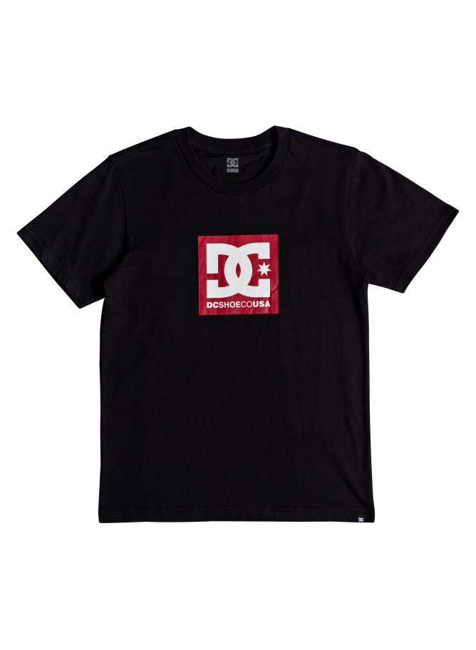 DC T-shirt Square Star SS Boy