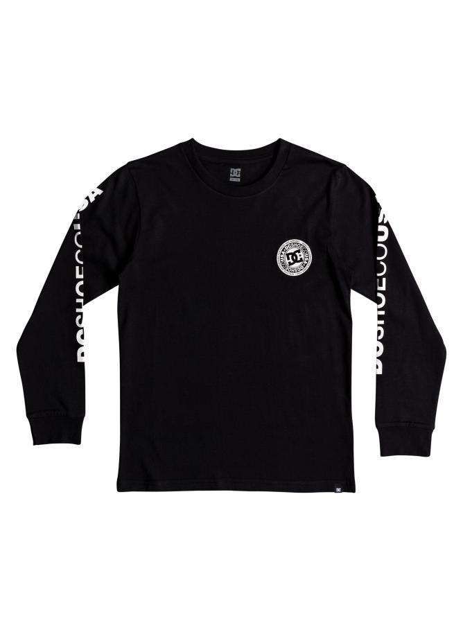 DC T-shirt Circle Star LS Boy