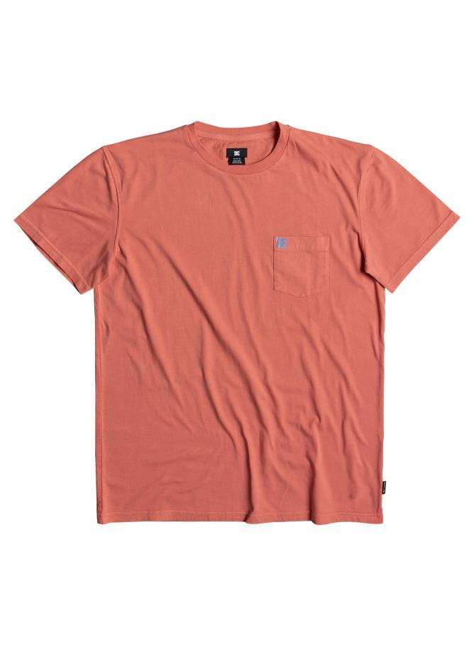 DC T-shirt Dyed Pocket Crew