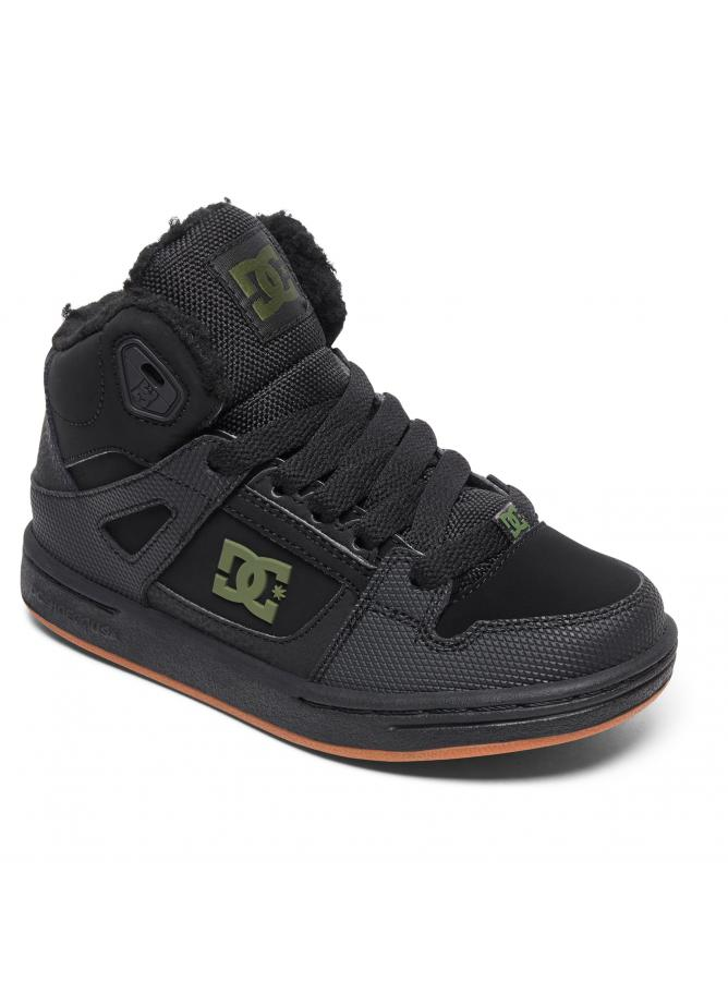 DC Boy's Shoes Pure High-Top WNT