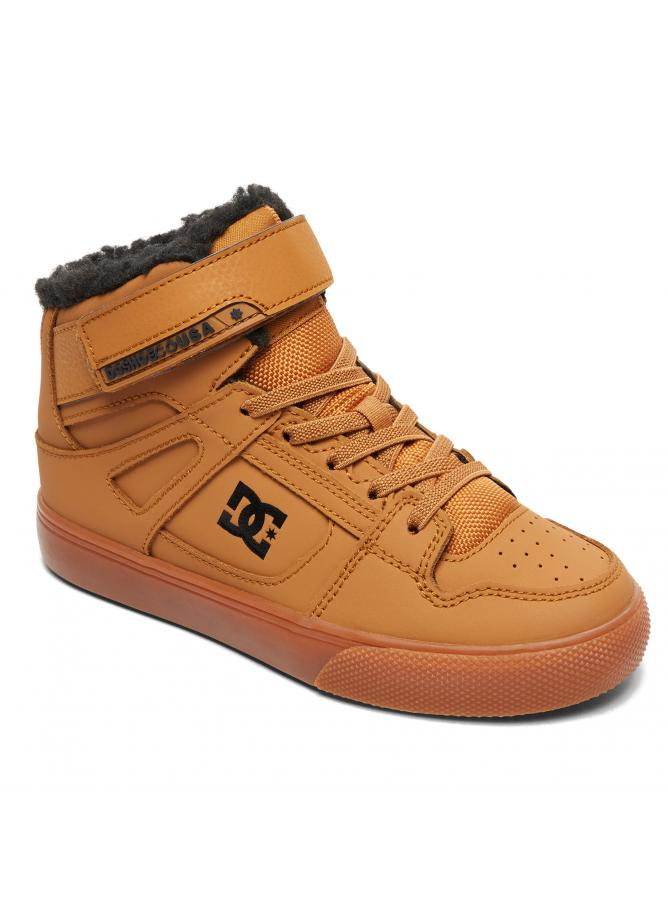 DC Boy's Shoes Pure High-Top WNT EV