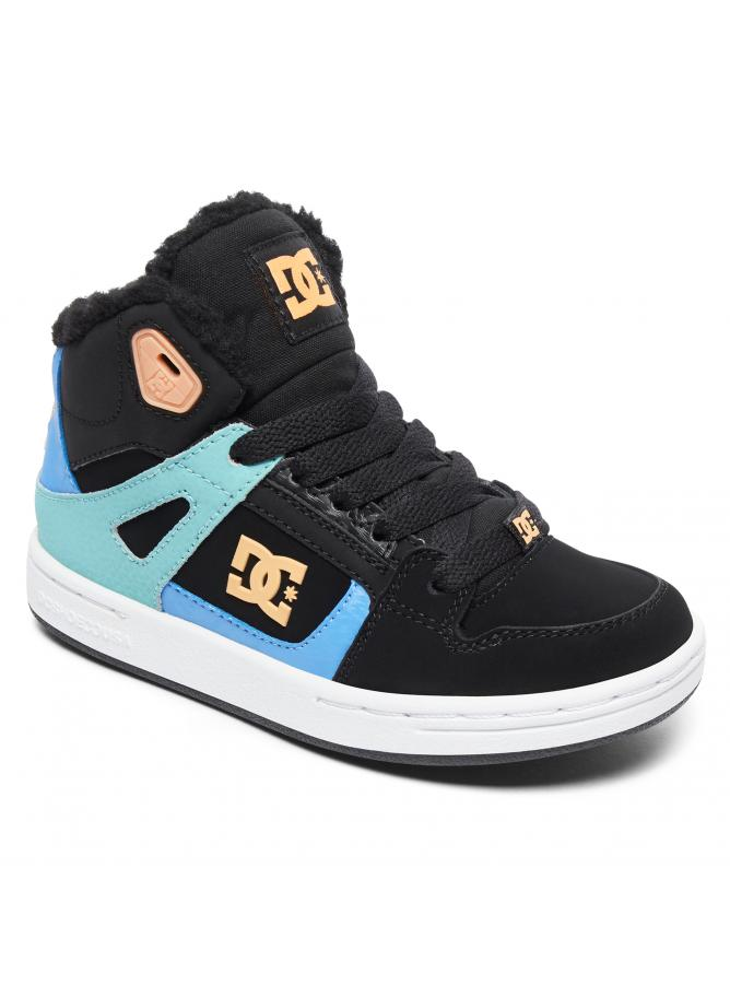 DC Girl's Shoes Pure High-Top WNT