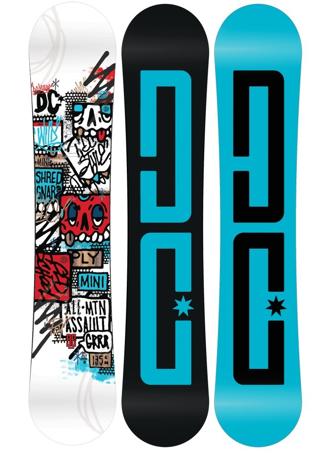 DC Snowboards Kid's Play Mini