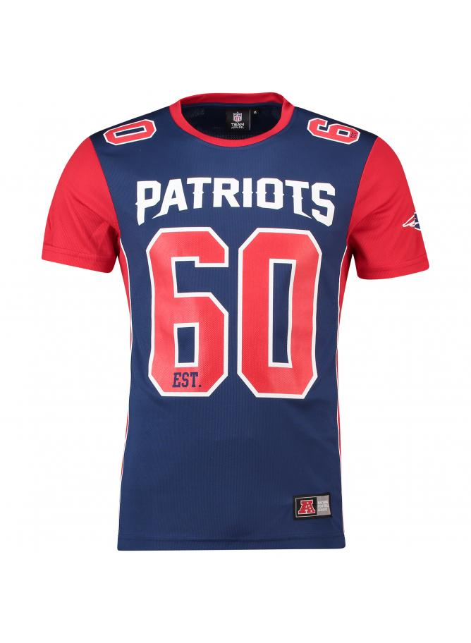Majestic Dene Poly Mesh T-Shirt – New England Patriots