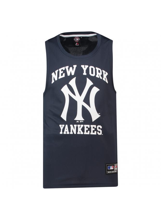 Majestic Jonser Poly Mesh Singlet – New York Yankees
