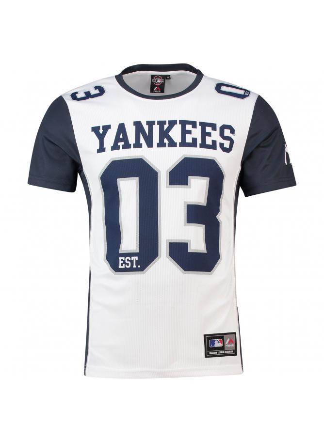 Majestic Dene Poly Mesh T-Shirt – New York Yankees
