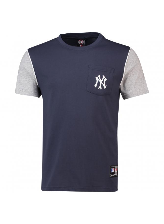 Majestic Daley Pocket Tee – New York Yankees
