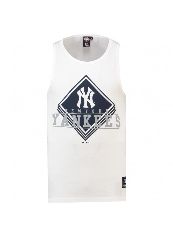 Majestic Cotton Graphic Vest – New York Yankees