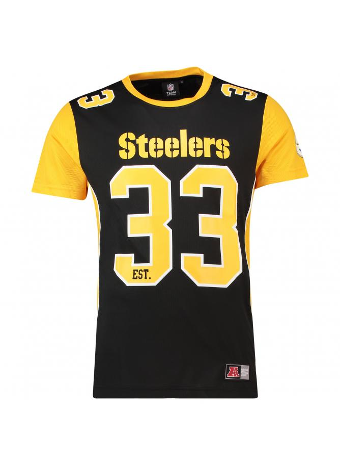 Majestic Dene Poly Mesh T-Shirt – Pittsburgh Steelers